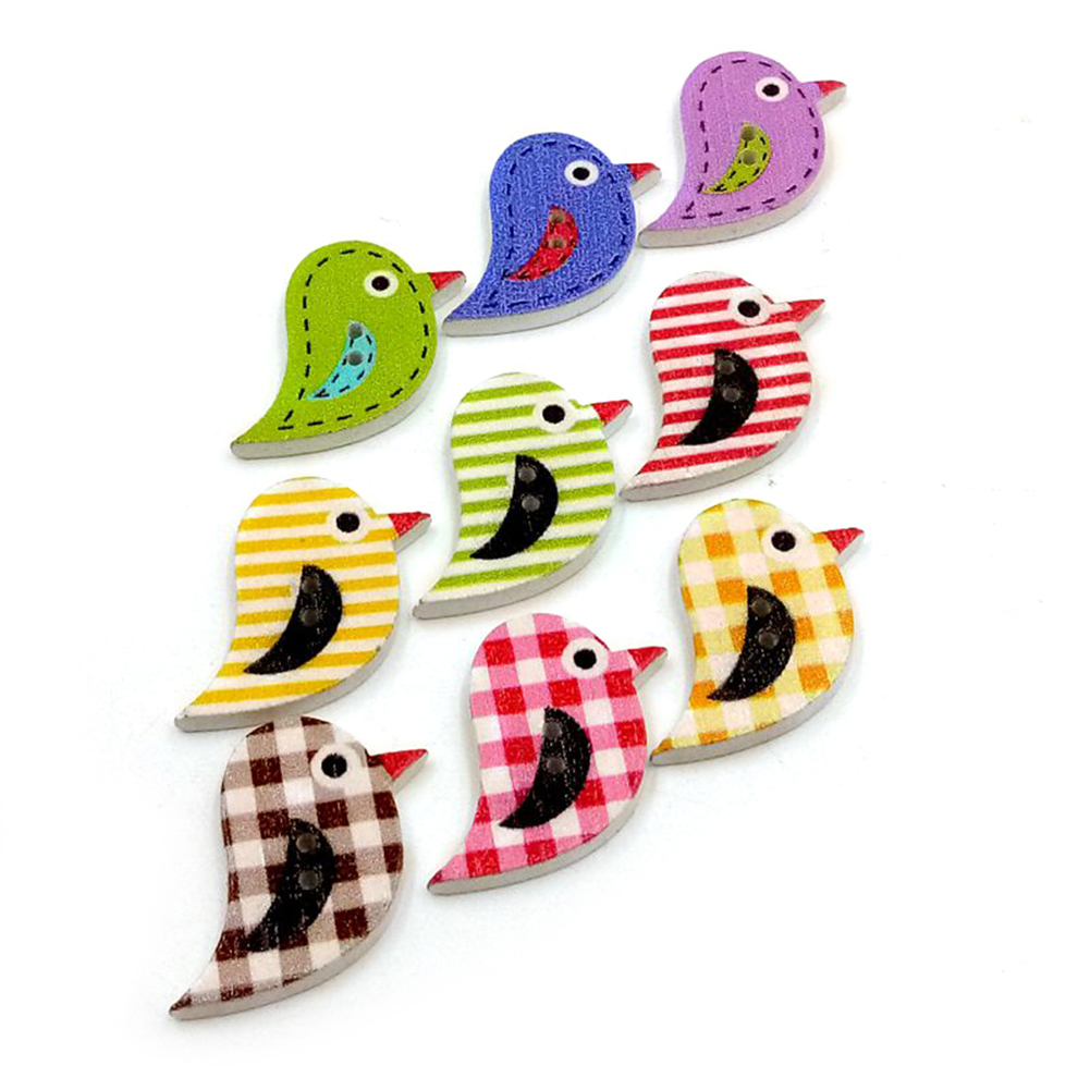 Wholesale-100pcs-2-Holes-Wooden-Sewing-Heart-Shape-Button-Craft-Scrapbooking-DIY thumbnail 34